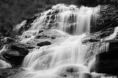 Photograph - Glen Falls Highland Nc by Sheila Kay McIntyre