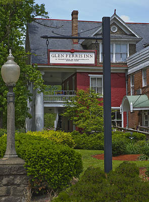 Photograph - Glen Ferris Inn by Rick Hartigan