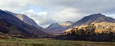 Mountins Photograph - Glen Gour Panorama by Gary Eason