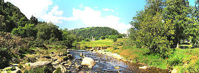 Photograph - Glendalough Panorama by Ian Kowalski
