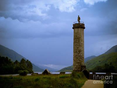 Photograph - Glenfinnan Monument Loch Shiel by Yvonne Johnstone