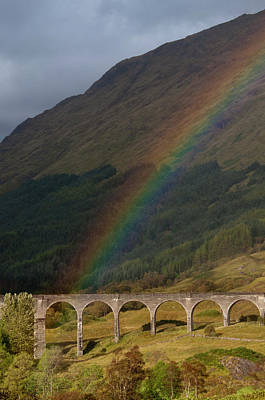 Glenfinnan Viaduct Art Print by © Alexander W Helin