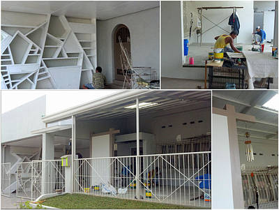 Photograph - Glenlorndave Gallery-studio Renovation 2012 by Glenn Bautista
