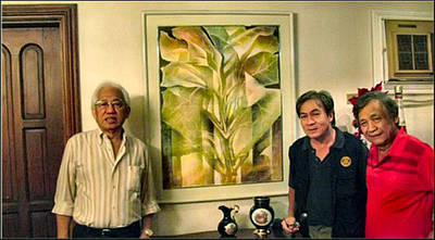 Photograph - Glenn Artwork With Dg Ato 1991 by Glenn Bautista
