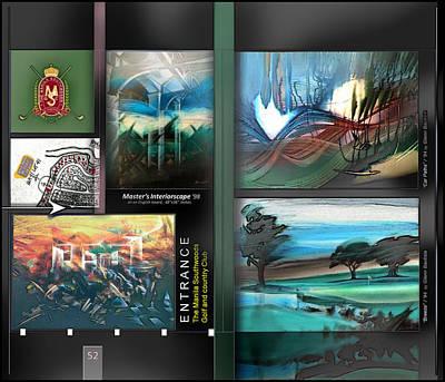 Digital Art - Glenn Artworks Southwoods P52 by Glenn Bautista