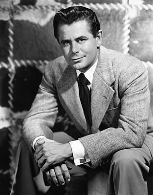 Glenn Ford, Paramount Pictures, 1950 Art Print by Everett