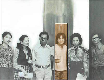 Photograph - Glenn Show - Galerie Bleu 1970 by Glenn Bautista