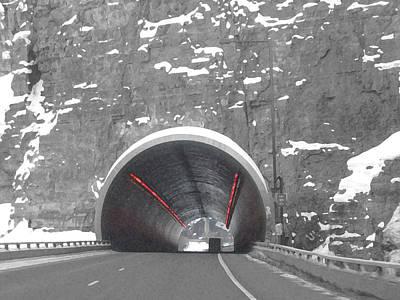 Wall Art - Digital Art - Glenwood Springs Tunnel by Bill Kennedy