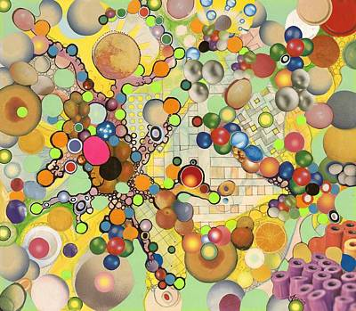 Art Print featuring the mixed media Globious Maximous by Douglas Fromm