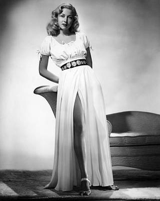 Gloria Grahame, 1946 Art Print by Everett