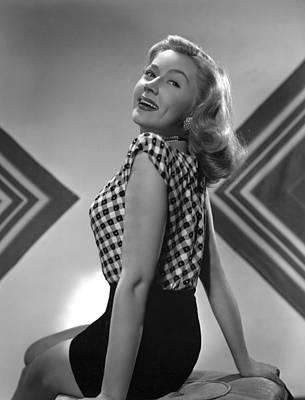 11x14lg Photograph - Gloria Grahame, Mgm Portrait, 1945 by Everett