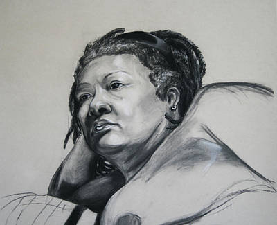 Confident Drawing - Gloria Portrait by Morgan Banks