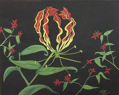 Painting - Gloriosa by Melanie Blankenship