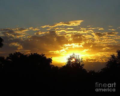 Photograph - Glorious Florida Sunset by Merton Allen