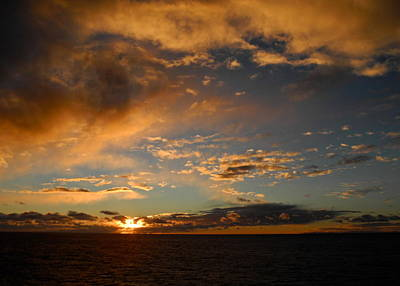 Photograph - Glorious Sunrise On The Indian Ocean by Kirsten Giving