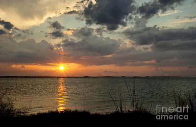 Photograph - Glorious Sunset by Cheryl Davis