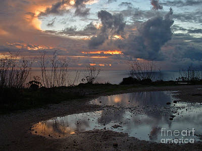 Photograph - Glorious Sunset Reflected by Mary Attard