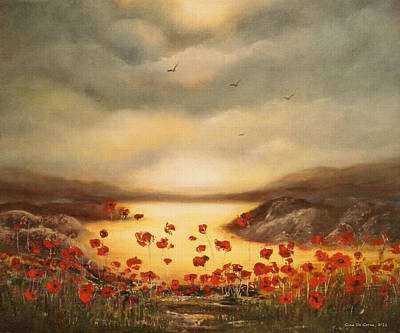 Painting - Glory by Gina De Gorna