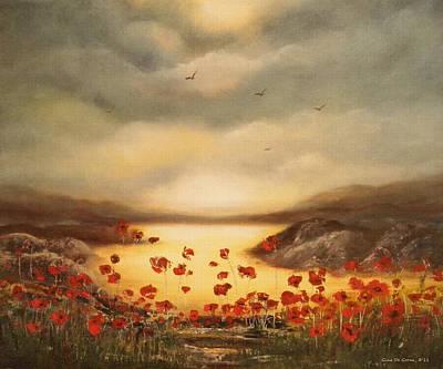 Painting - Glory by Gina De Gorna