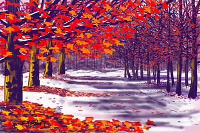 Glory Of Autumn Art Print