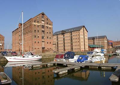 Photograph - Gloucester Docks by Ed Lukas