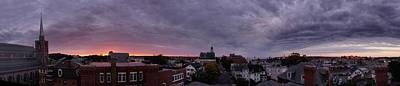 Photograph - Gloucester Sunrise Panorama by Matthew Green