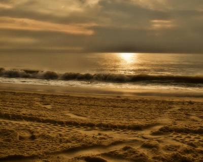 Photograph - Glowin' Ocean by Trish Tritz