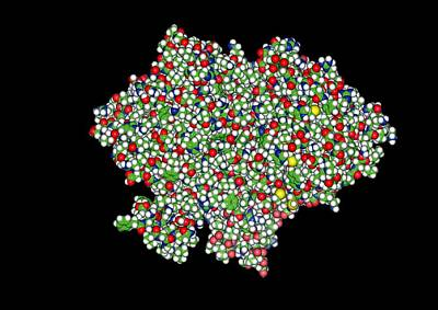 Glycogen Phosphorylase, Molecular Model Art Print by Francis Leroy, Biocosmos