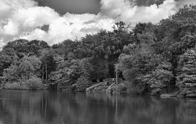 Mono Photograph - Gnoll Country Estate 2 Mono by Steve Purnell