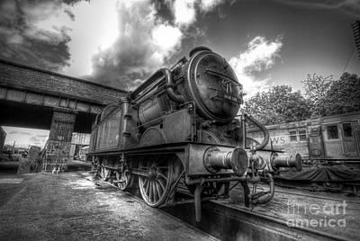 Photograph - Gnr 1744 Class N2 Bw by Yhun Suarez