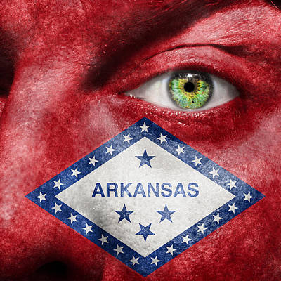 Go Arkansas  Art Print by Semmick Photo