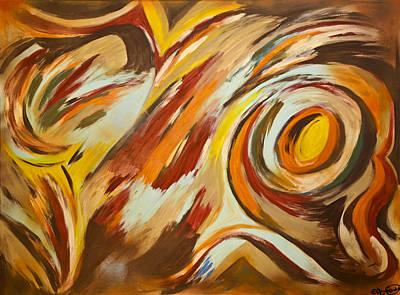 Mixed Media - Go by Artista Elisabet