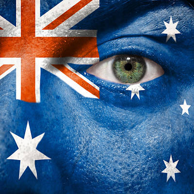 Photograph - Go Australia by Semmick Photo