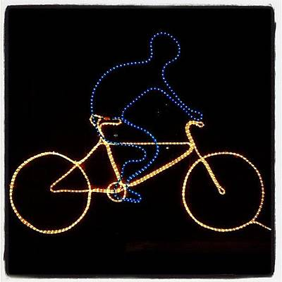 Cycling Wall Art - Photograph - Go Cycle #bicycle #cycle #graceland25 by A Rey