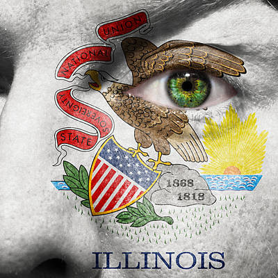 Photograph - Go Illinois  by Semmick Photo