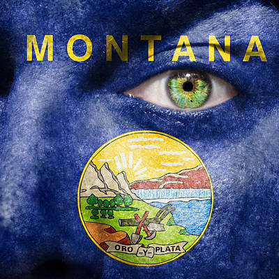 Photograph - Go Montana  by Semmick Photo
