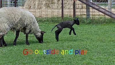Photograph - Go Outside And Play Rainbow by LeeAnn McLaneGoetz McLaneGoetzStudioLLCcom