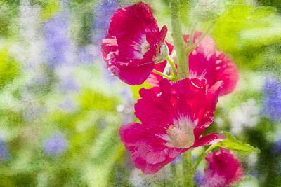 Go Paint In The Garden Art Print by Toni Hopper