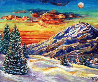 Go Tell It On The Mountain Art Print by Suzanne King