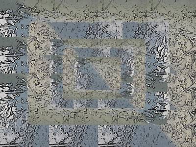 Digital Art - Go With The Floe 3 by Tim Allen