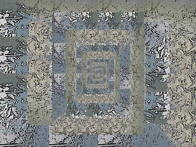 Digital Art - Go With The Floe 6 by Tim Allen