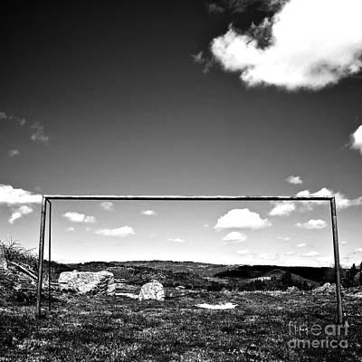 Goal Art Print by Bernard Jaubert
