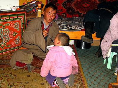 Photograph - Gobi Dad by Diane Height