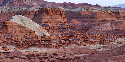 Goblin Valley Triptych Right Art Print by Gregory Scott