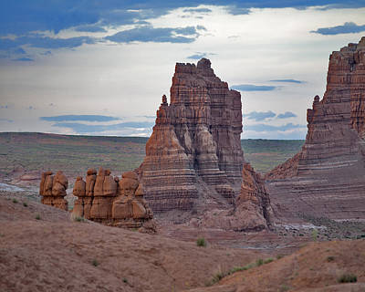 Utah Photograph - Goblins At Sunset by Gregory Scott