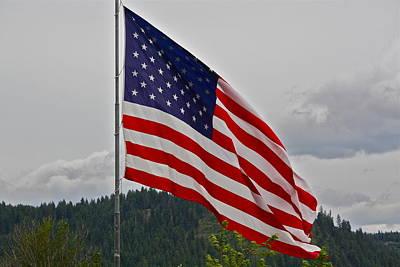 Photograph - God Bless America by Diana Hatcher