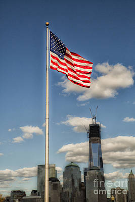 Photograph - God Bless America by Leslie Leda