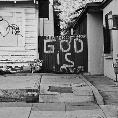 Photograph - God Is Love by Lennie Green