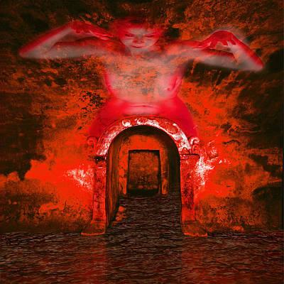 Goddess Of Portal To Infinity Art Print by Andy Frasheski