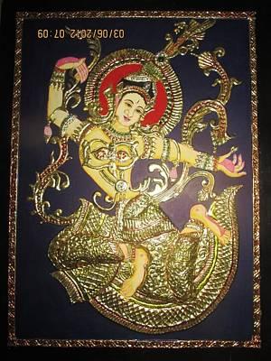 Goddess Tara Art Print by Asha Nayak